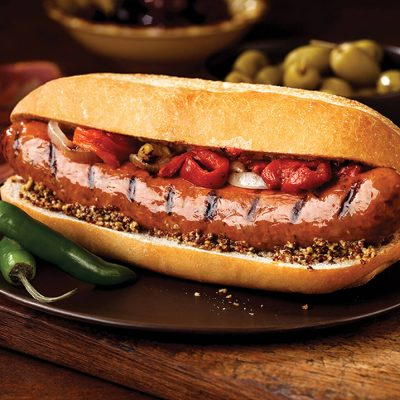 Marcangelo product - sausage in a bun